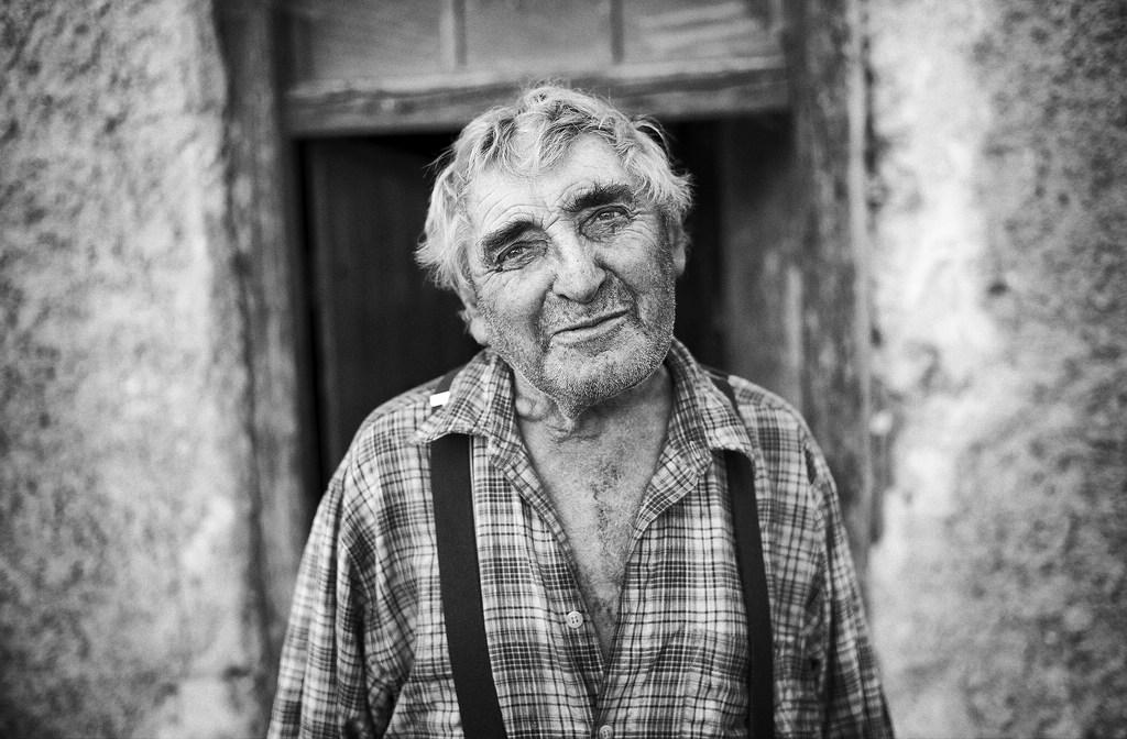 © Stefan Winkelhöfer. Portrait von Hans, dem Kleinbauern