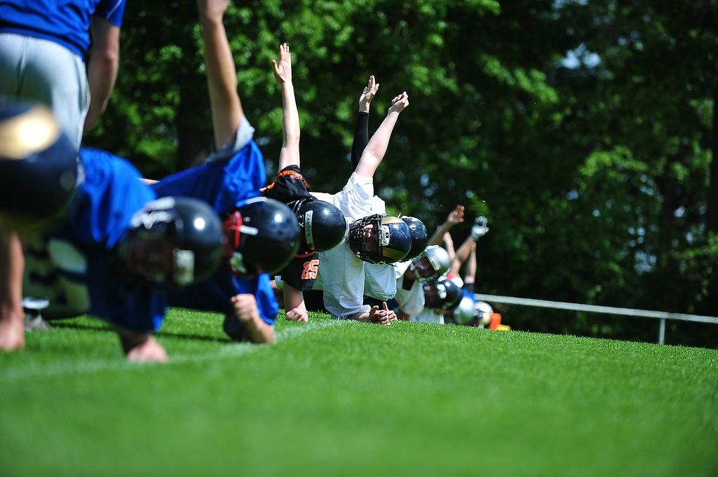 Hilfe – mein Kind ist ein Quarterback!