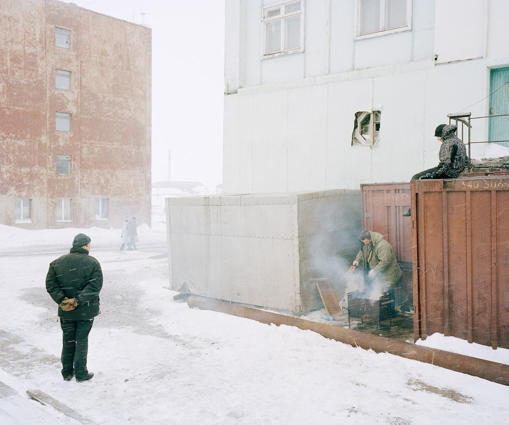 Beat Schweizer: Foto aus Dikson, Russland