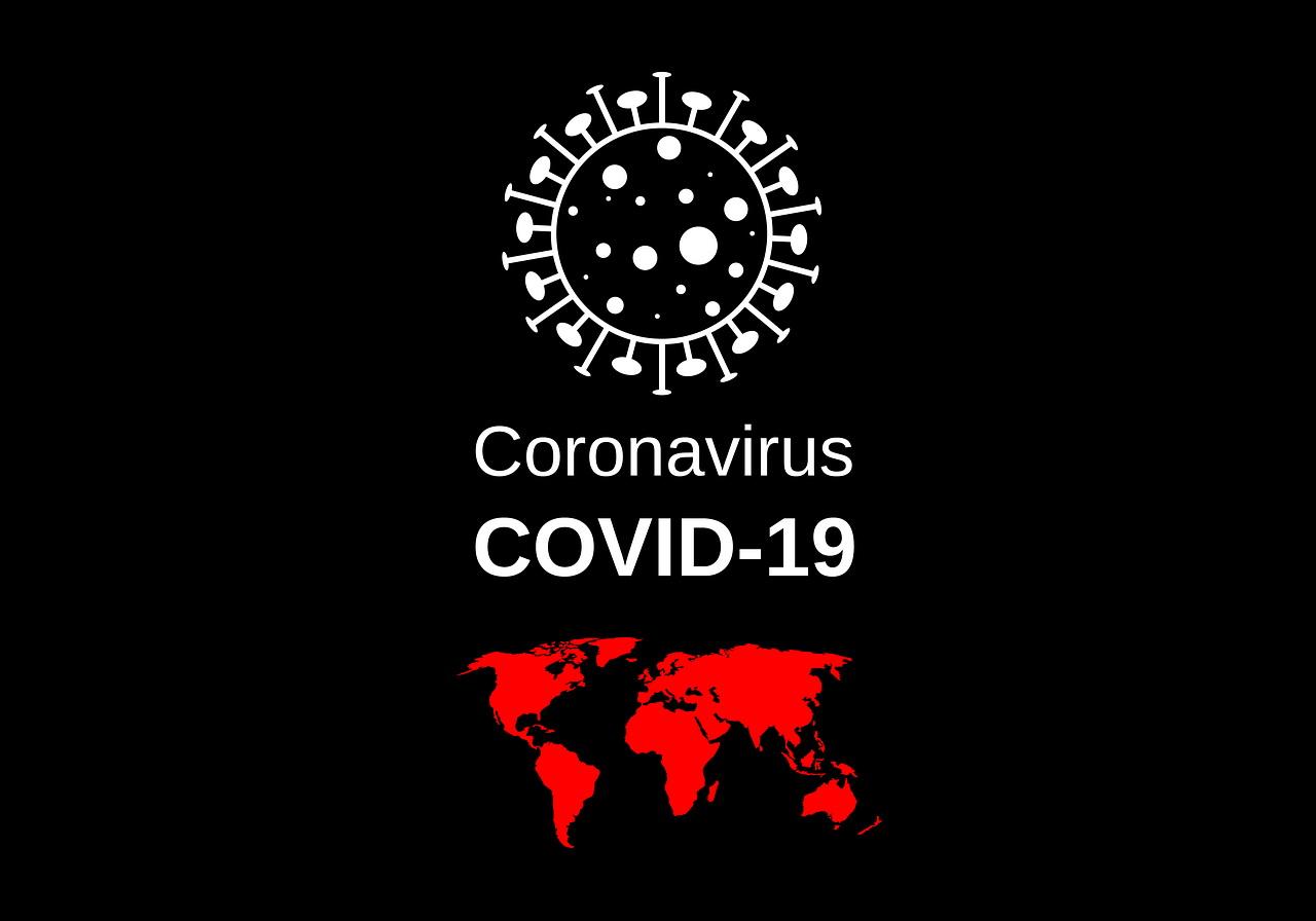 Grafik Coronavirus COVID COVID-19 Corona